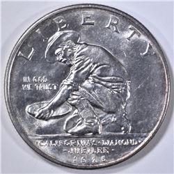1925-S CALIFORNIA COMMEM HALF DOLLAR GEM BU