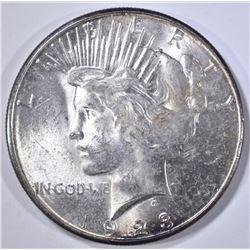 1923-S PEACE DOLLAR CH/GEM BU