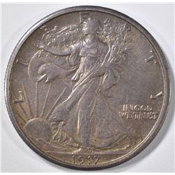 1917-S REV WALKING LIBERTY HALF DOLLAR CH ORIG UNC