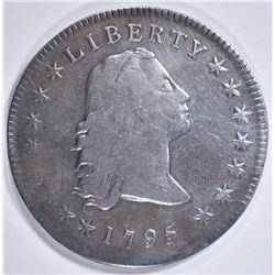 1795 FLOWING HAIR DOLLAR   F-VF