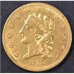 1837 $2.5 GOLD LIBERTY  BU   OLD CLEANING
