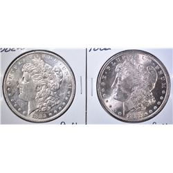 1882 & 1882-O MORGAN DOLLARS  BU