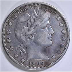 1899-O BARBER HALF DOLLAR  XF