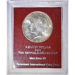 1926-S PEACE DOLLAR REDFIELD HOARD GEM BU