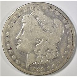 1889-CC MORGAN DOLLAR   G