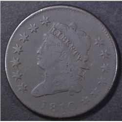 1810 LARGE CENT FINE  DARK