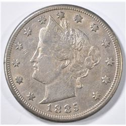 1885 LIBERTY NICKEL  XF