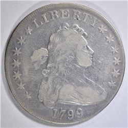 1799 BUST DOLLAR VF