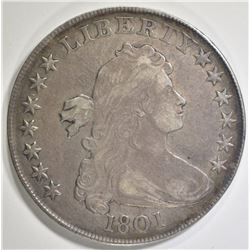 1801 BUST DOLLAR   VF