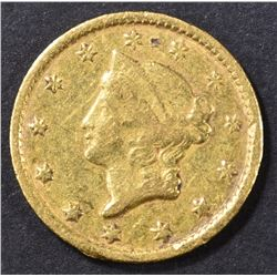1852-C GOLD DOLLAR  XF