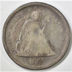 1875-S 20 CENT G/VG