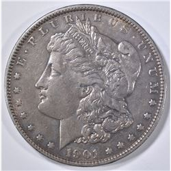 1901 MORGAN DOLLAR DOUBLE DIE REVERSE XF/AU