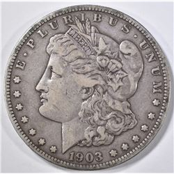 1903-S MORGAN DOLLAR, VF