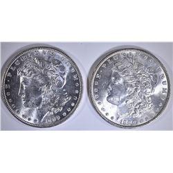 2-1890 CH BU MORGAN DOLLARS