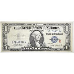 "1935A $1 SILVER CERTIFICATE EXPERIMENTAL ""R"""