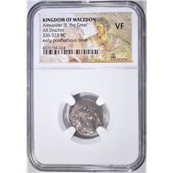 336-323 BC DRACHM  KINGDOM OF MACEDON