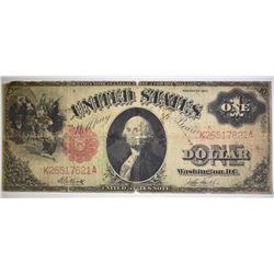 1917 LEGAL TENDER NOTE, LOW GRADE HOLE