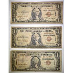 3-1935 $1 HAWAII NOTES LOW GRADE