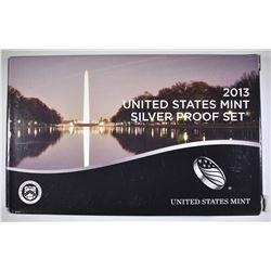 2013 U.S. SILVER PROOF SET ORIG PACKAGING