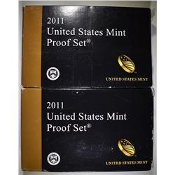 2-2011 U.S PROOF SETS