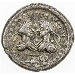 BOSPOROS: Rheskuporis IV, 240-276, AE stater (7.63g), year 560 (=263/264 AD). VF-EF