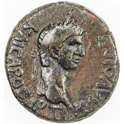 BOSPOROS: Kotys I, circa 45-68 AD, AE 12 nummia (7.23g). F-VF