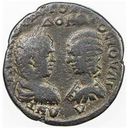 ROMAN EMPIRE: Caracalla, 198-217 AD, AE 25 (10.41g), Marcianopolis, Moesia Inferior. F