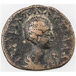 ROMAN EMPIRE: Plautilla, wife of Caracalla, 202-205, AE assarion (5.94g), Sikyon, Sikyonia. VG