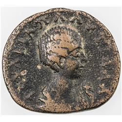 ROMAN EMPIRE: Plautilla, wife of Caracalla, 202-205, AE assarion (5.94g), Sikyon, Sikyonia. VG