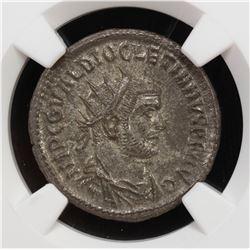 ROMAN EMPIRE: Diocletian, 284-305 AD, BI antoninianus (3.94g), ND. NGC MS