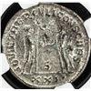 Image 2 : ROMAN EMPIRE: Constantius I, as caesar, 293-306, AE antoniinianus (4.97g), Antioch (293-294). NGC MS