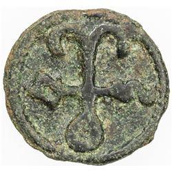 BYZANTINE EMPIRE: Constantine VII & Romanos I, 920-944, AE follis (3.36g), Cherson. F-VF