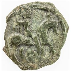 KABARNA: Anonymous, ca. 620-750, AE cash (1.61g). VF