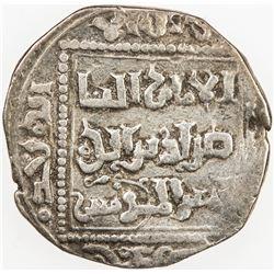 AYYUBID: al-Nasir Yusuf I (Saladin), 1169-1193, AR dirham, Dimashq, AHxx7. VF