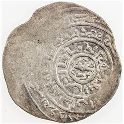 GHORID: Mu'izz al-Din Muhammad, 1171-1206, AR dirham, Balad Ghazna, DM. VF