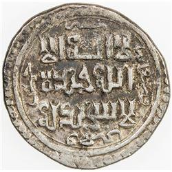 JALAYRIDS: Shaykh Hasan, 1335-1356, AR dinar (2.68g), Hilla, AH755. VF