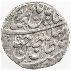 AFSHARID: Nadir Shah, 1735-1747, AR rupi (11.59g), Sind, AH115X. VF