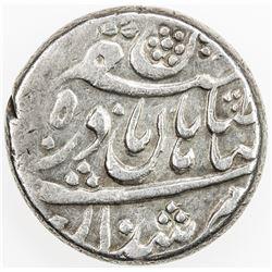 AFSHARID: Shahrukh, viceroy, 1739-1747, AR rupi (11.56g), Herat, ND. VF