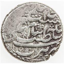 AFSHARID: 'Adel Shah, 1747-1748, AR rupi (11.49g), Herat, AH1160. VF