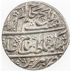 AFSHARID: 'Adel Shah, 1747-1748, AR abbasi (4.59g), Tabriz, AH(11)61. AU