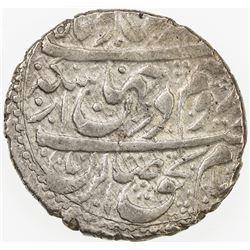 ZAND: Karim Khan, 1753-1779, AR abbasi, Kashan, AH1177. EF