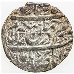 ZAND: Karim Khan, 1753-1779, AR abbasi, Shiraz, AH1180. EF