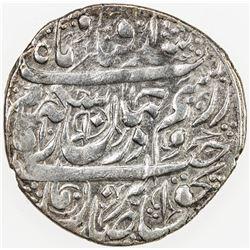 ZAND: Karim Khan, 1753-1779, AR abbasi, Tabriz, AH1181. EF