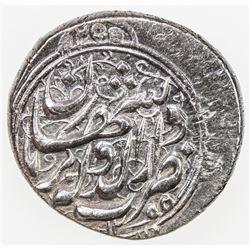 QAJAR: Muhammad Shah, 1837-1848, AR qiran, Kirmanshahan, AH1255. EF