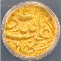 SHAYBANID: 'Abd Allah II, 1583-1598, AV 1/12 mohur, [Badakhshan], DM. ANACS EF45