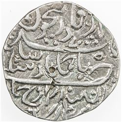 DURRANI: Ahmad Shah, 1747-1772, AR rupee (11.36g), Derajat, AH1175. VF-EF