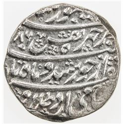 DURRANI: Taimur Shah, 1772-1793, AR rupee, Peshawar, AH1186 year one. VF-EF