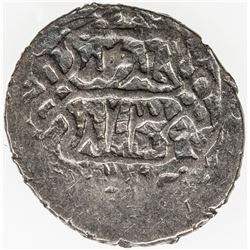 OTTOMAN EMPIRE: Musa Celebi, 1410-1413, AR akce, NM, AH813. VF