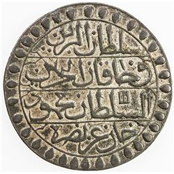 ALGIERS: Mahmud II, 1808-1839, AR 2 budju (14.98g), Jaza'ir, AH1238. VF-EF