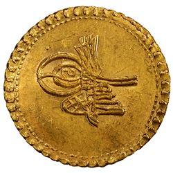 EGYPT: Ahmed III, 1703-1730, AV esherifi altin (3.49g),